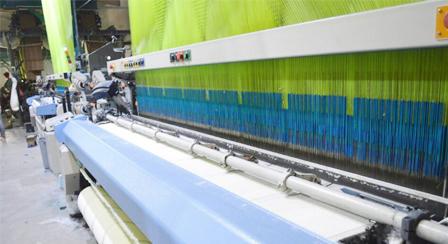 毛巾生产车间4