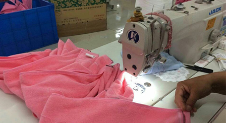 毛巾制作细节1
