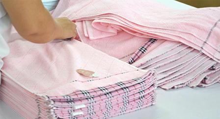 毛巾制作细节2