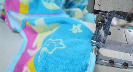 毛巾制作细节4