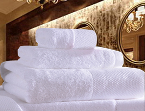 酒店纯棉毛巾浴巾三件套套装定制logo