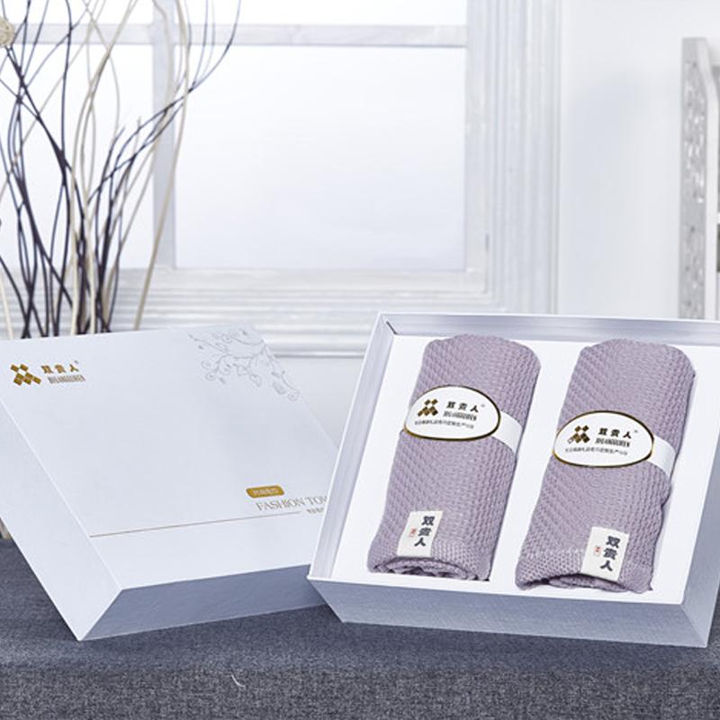 促销礼品定制logo创意纯棉吸水毛巾礼盒装