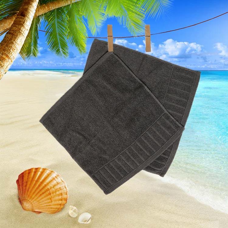 双贵人色织网缎石墨烯纤维方巾预售款